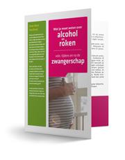 folder Alcohol en Roken zwangerschap